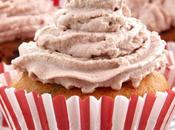 Cupcakes avec topping cacao