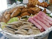 Faire buffet froid viandes charcuterie