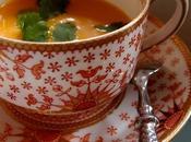°velouté glacé carottes lait coco gingembre°
