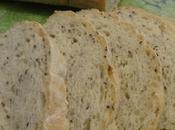 Pain graines flax seed bread semillas lino