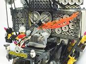 enceintes fonctionnelles véhicule réalisé LEGO