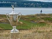 L'US Open golf, Majeur l'accent British sent brûlé