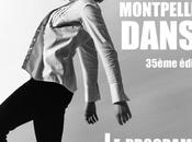 programme Festival Montpellier Danse événements