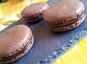 Macaron chocolat carambar