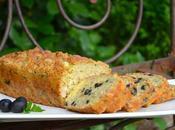 Cake thon, emmental olives noires