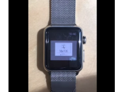 Insolite Apple Watch tourne sous 7.5.5