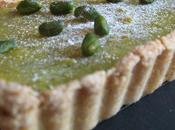 Tarte croustillante citron pistaches