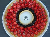 Tarte fraise mûres
