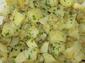 Salade pommes terre citron confit