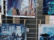 Brioude Quand aquarellistes voient bleu