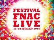 Festival Fnac Live juillet Hôtel Ville Paris