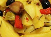 Poêlée pommes terre olives citrons
