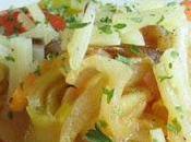 Recette salade courgettes marinés citron, feta tomates séchées