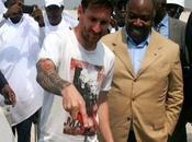 Messi, émissaire très cher Afrique