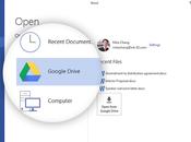 Modifiez fichiers Google Drive suite bureautique Microsoft Office