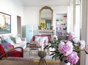 Visite privée d'une maison déco fraîche colorée