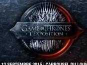 Game thrones l'exposition septembre Carrousel Louvre!