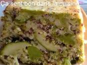 Terrine légumes vert quinoa