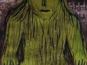 """Dessin portable, """"Homme vert"""", dessin emporter cabas papier imprimé Vivre temps guerre."""