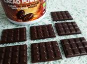 mini-tablettes chocolat très intenses 100% cacao (diététiques, bio, sans gluten sucre lait, riches fibres)