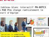 tableau blanc interactif PN-80TC3 change radicalement travail d'équipe