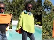 Poncho africain, wax, must have l'automne