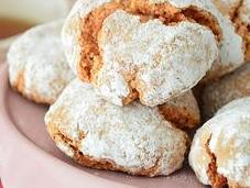 Biscuits poudre macarons amande
