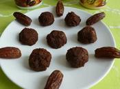 boules d'énergie 100% crues cacao dattes baobab chia agave (diététiques, véganes, sans sucre ajouté gluten, riches fibres)