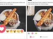 """Facebook teste emoji """"réactions"""" liés bouton J'aime"""