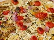 Tarte fine courgettes fromage blanc