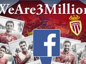 L'As Monaco millions fans Facebook