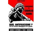 Conférence Charles Robin Quel antifascisme