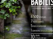 Exposition puis s'en L'exposition IMPROBABILIS termine bientôt Jardin Botanique Bordeaux