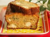 Cake feta, tomates cerises rôties menthe