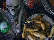 table d'halloween desserts, magie frayeurs.