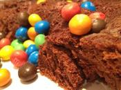 Gâteau nuage chocolat-crème marron