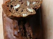 Cake farine châtaigne noix