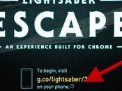 Star Wars: transformez votre smartphone sabre laser grâce vidéo Google!