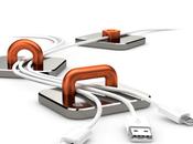Test flash Fixation cables magnétique Griffin