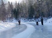 plus longue patinoire rivière Québec ouvre Week-end