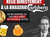 L'incroyable ĂŠpopĂŠe l'atome sponsorisĂŠe Carlsberg