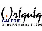 Ouverture Galerie rIquIquI .)vitrine avec Gilles TANGUY| Toulouse