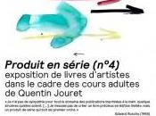 Exposition Produit série (n°4) livres d'artistes Chapelle Couvent Cordeliers