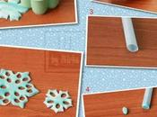 Flocon neige pâte Fimo