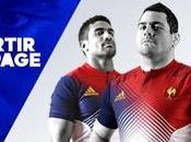 Rugby nouveau 2ème maillot pour bleus