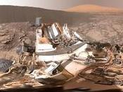 Mars l'environnement Curiosity réalité virtuelle