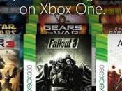 Xbox nouveaux jeux rétrocompatibles
