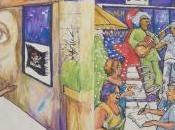 Café Graffiti Ste-Cath: d'histoire