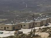 L'occupant israélien commence construire 1.800 maisons Cisjordanie