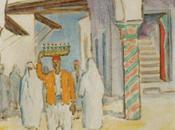 Peinture chevalet société maghrébine (3).